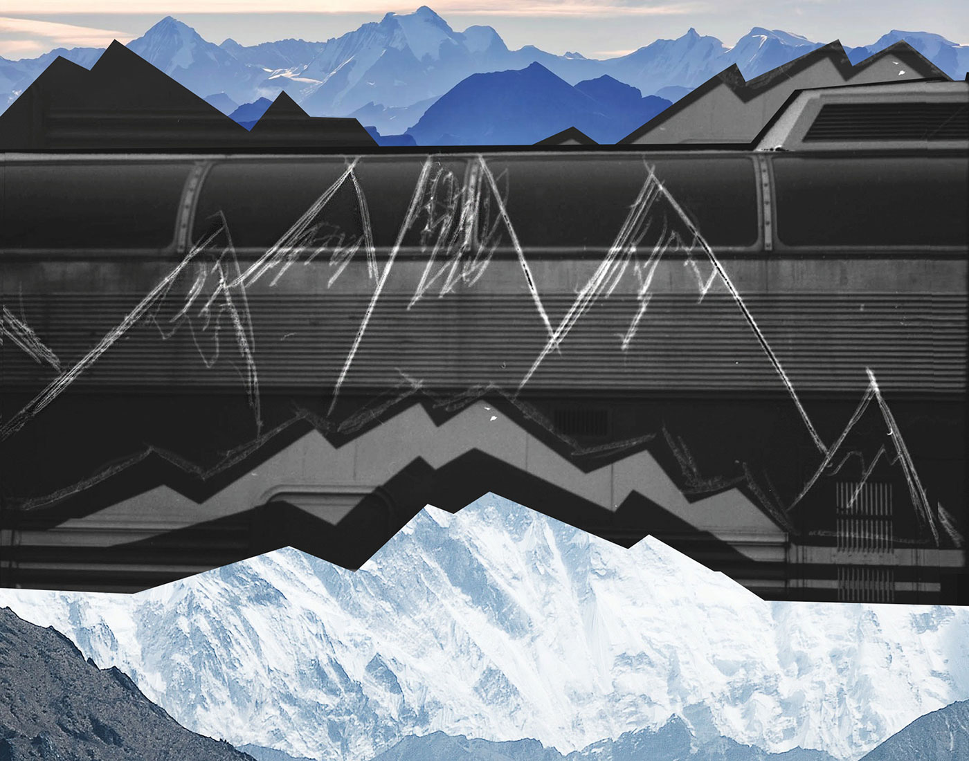 Kennedy N. Johnson - Mountain (from the Virtual Matter series)