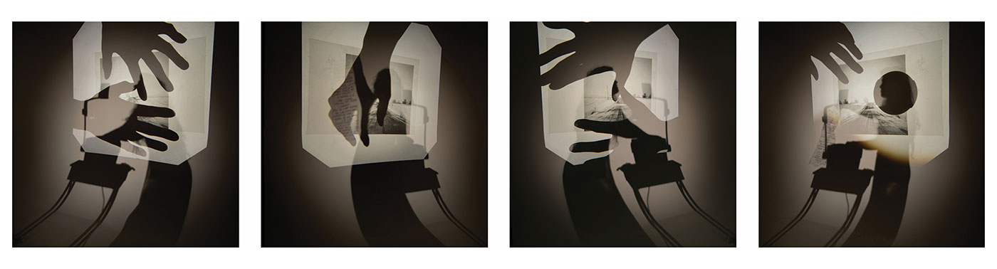 Samantha J. Meyers - Woman with Projector (Homing series)