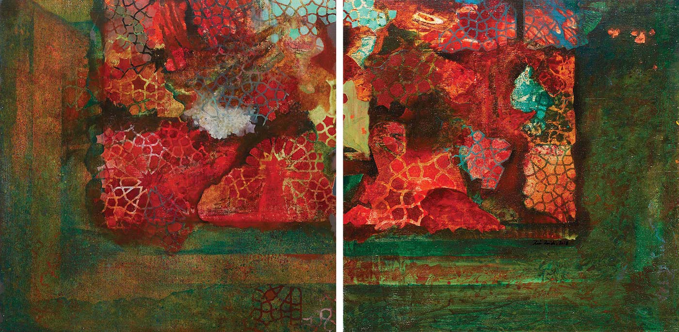 Zia Haider Syed - A View from the Courtyard (I)
