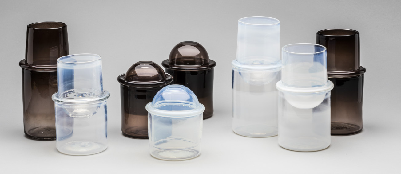 Lucille M. Olechowski - Stackable Wine/Water Set