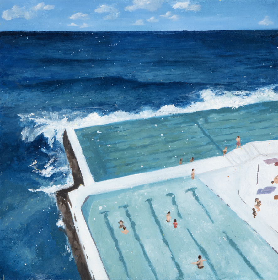 Elizabeth Lally - Bondi Beach