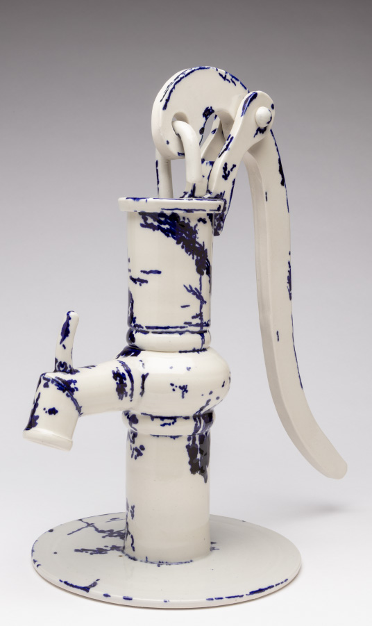 Josh Jalowiec - Water Well Hand Pump #1 (My Blue China)