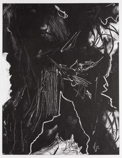 Josué Emmanuel Fierro - Untitled Monotypes from Series (2015-2017)