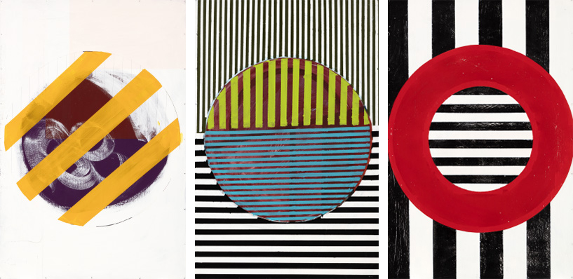 Nate Lebsack - From left to right: Wild; Chaos; Stripe